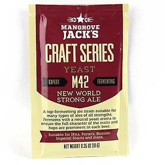 Mangrove Jacks Beer Yeast - M42 New World Strong Ale