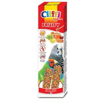 Cliffi Papagayo Sticks With Exotic Fruit And Honey  Fruity  60 Grs (Oiseaux , Snacks)