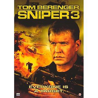Sniper 3 filmaffisch (11 x 17)