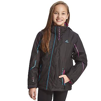 New Dare 2B Girl's Ponder Waterproof Jacket Black