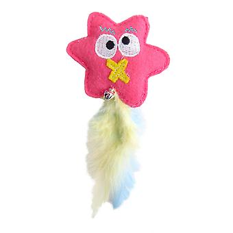 Happy Monster Pinky Cat Nip Toy (Pack of 6)