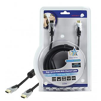 HQ High quality High Speed HDMI cable with ethernet 2.50 m