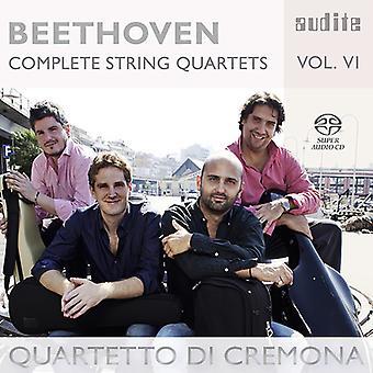Beethoven, L.V. / Cremona de Di Quartetto - Beethoven: importación de Estados Unidos 6 cuartetos de cuerda completos [SACD]