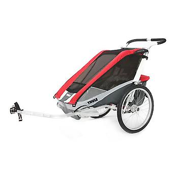 Thule Chariot Cougar2 + Cycle (Red) 14-> 975-100936