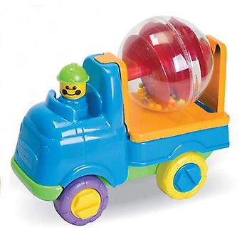 Fun Time Push Along Toy Concrete Mixer 18m+