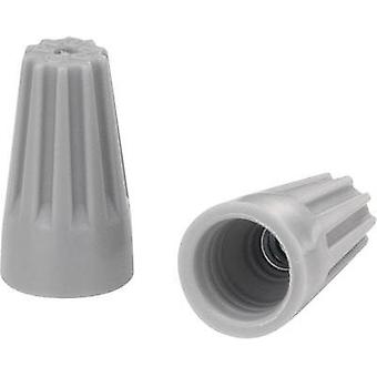 Core connector flexible: - rigid: 0.5-1.25 mm² Number of pins: 2 KSS SW71BH 100 pc(s) Grey