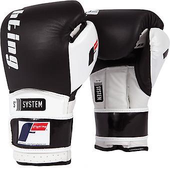 Kampf Sport S2 Gel macht Sparring Boxhandschuhe - schwarz/weiß