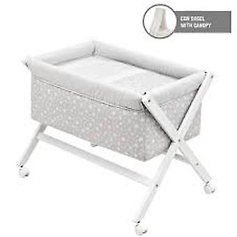 Cambrass Scissors Wood + Canopy Crib Star (Home , Baby's en Kinderen , Slaapkamer , Wieg)