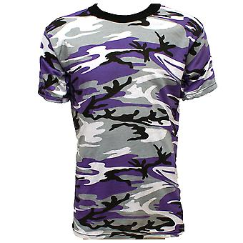New Combat Military Us Army Style T-Shirt