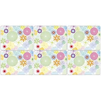 Pimpernel Crazy Daisy Placemats Set of 6