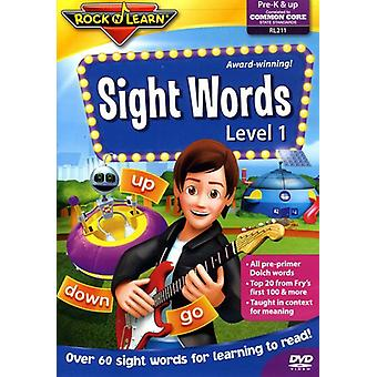 Rock'N Lær - Sight ord [DVD] USA import