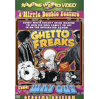 Importer des ghetto Freaks/Way Out [DVD] é.-u.