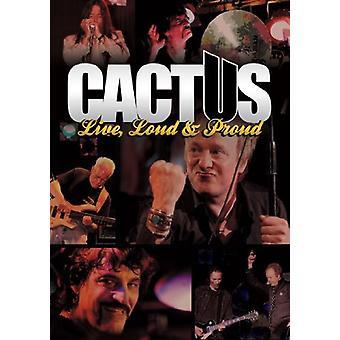 Kaktus - Live Loud & stolt [DVD] USA importerer
