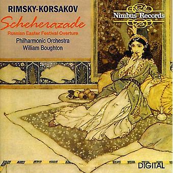 N. Rimskij-Korsakov-Rimskij-Korsakov: Scheherazade [CD] USA import