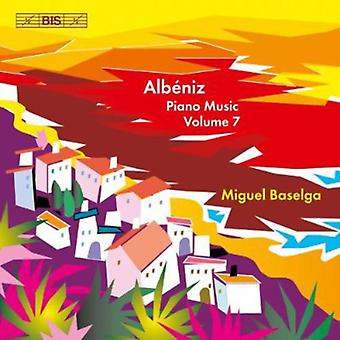 I. Albeniz - Alb Niz : Piano Music, importation USA Vol. 7 [CD]