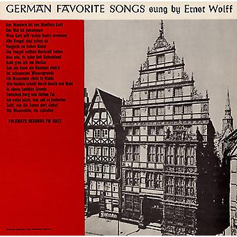 Ernst Wolff - German Favorite Songs [CD] USA import