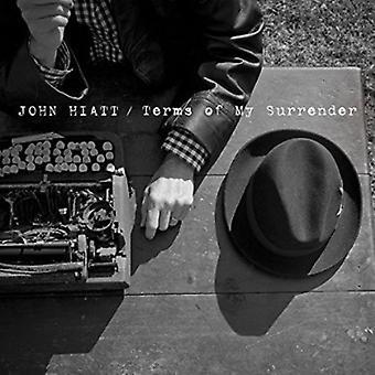 John Hiatt - voorwaarden van mijn overgave [CD] USA import