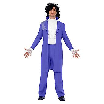 Rock pop 80s costume Amadeus Prince suit men