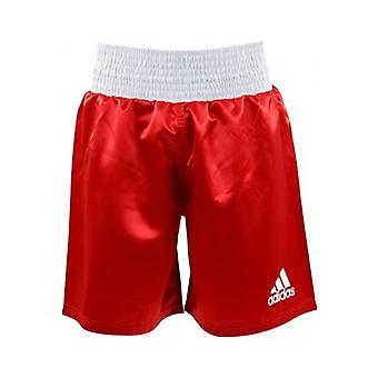 Adidas  Satin Boxing Shorts - Red-White