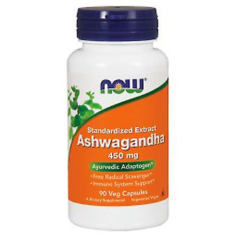 Now Ashwagan Dha 450 mg 90 Cápsulas Vegetales