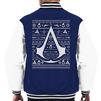 Christmas Strik Assassins Creed mænds Varsity jakke