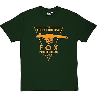The Great British Fox Protection Society Men's T-Shirt