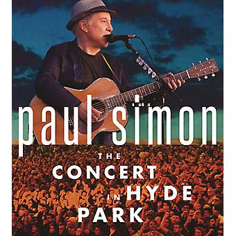 Paul Simon - konsert i Hyde Park [CD] USA import