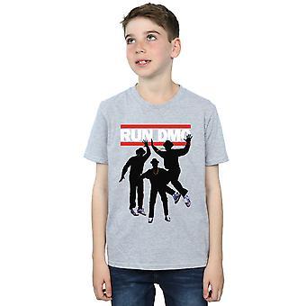 Køre DMC drenge Sihouette hoppe T-Shirt