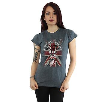 Rolling Stones Women's Union Jack American Tour T-Shirt