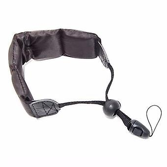 JJC Black Floating Foam Camera Strap for Sanyo XACTI VPC-CA8, VPC-CA9, VPC-CA65, VPC-CA100, VPC-WH1