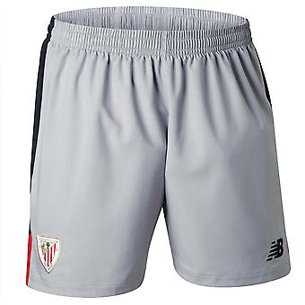 2017-2018 Athletic Bilbao Away Shorts (Alloy)