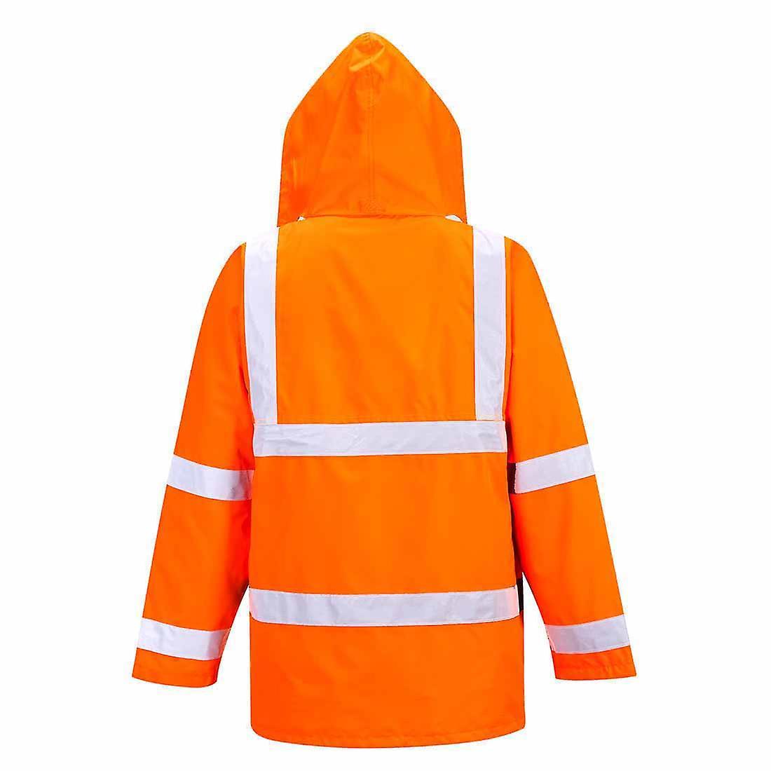 SUw - Hi-Vis Safety 4-in-1 Traffic vêtehommests de travail veste