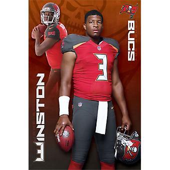 Tampa Bay Buccaneers - Jameis Winston 15 Poster Plakat-Druck