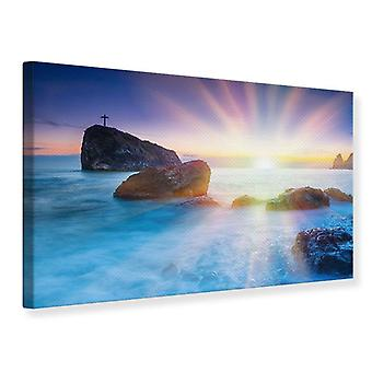 Canvas Print Photo Wallaper Mystic Sea