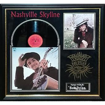 Bob Dylan - Nashville Skyline - Signed Album
