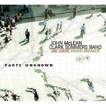 McLean, John: Clark Sommers Band - dele ukendt [CD] USA import