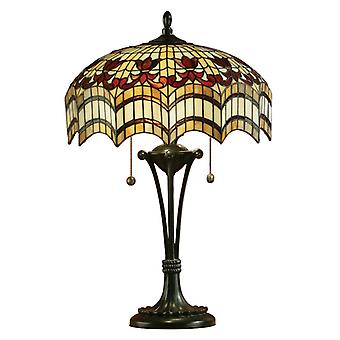 Vesta Medium Tiffany Style bordslampa - interiör 1900 64377