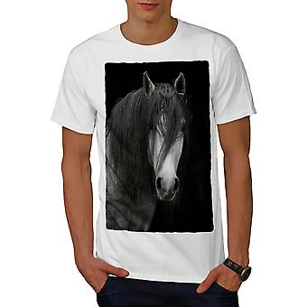 Gloom Dark Horse Männer WhiteT-t-Shirt | Wellcoda