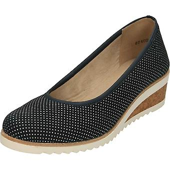 Remonte D5500-14 Wedge Slip On Heeled Shoes