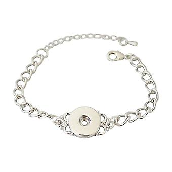 Stainless Steel Bracelet For Click Buttons Kb0214