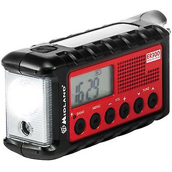 FM Outdoor radio Midland C1173 FM Torch, rechargeable