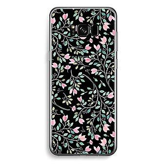 Samsung Galaxy S8 Plus caja transparente (suave) - flores delicadas