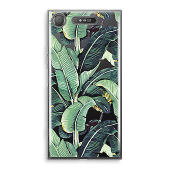 Sony Xperia XZ1 gjennomsiktig sak (myk) - banan blader