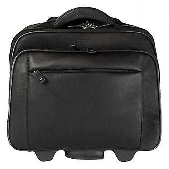 Cortez Laptop Trolley Case - Dark Brown