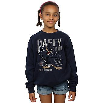 Looney Tunes Mädchen Daffy Duck Konzert Sweatshirt