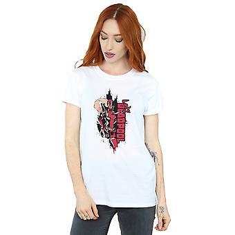 Marvel kvinnors Deadpool Lady Deadpool Boyfriend Fit T-Shirt