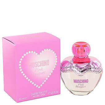 Moschino Pink Bouquet Eau de Toilette 50ml Spray