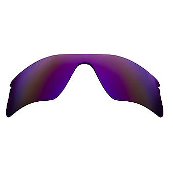 PORTATA del RADAR polarizzata lenti Accessori Kit viola marrone di SEEK si adatta OAKLEY