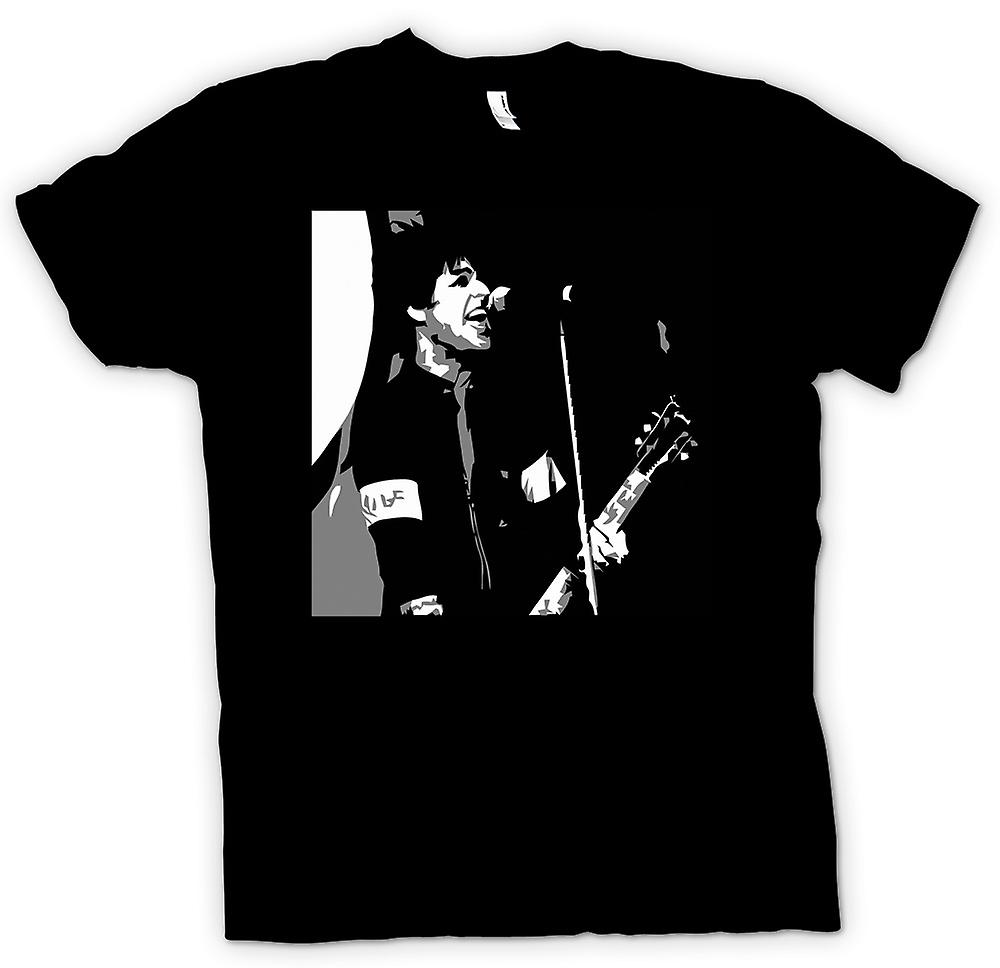 Camiseta mujer-Green Day - Billy Joel - BW