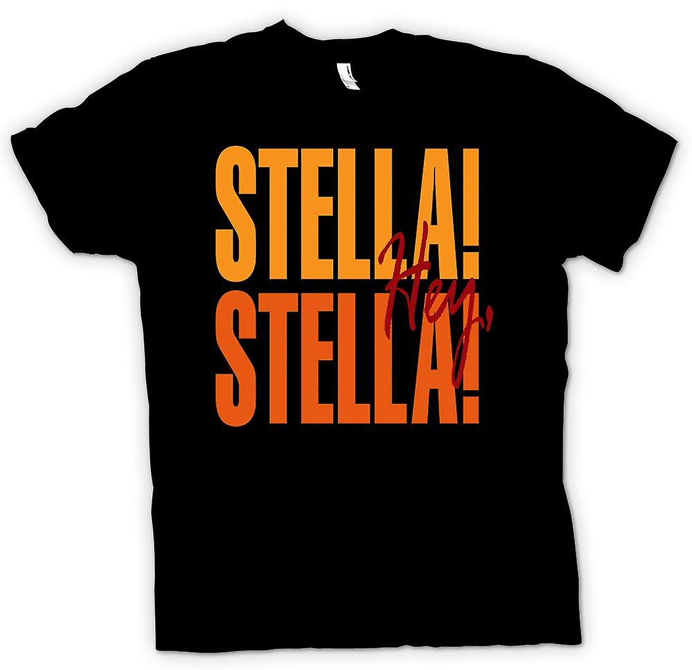 Mens T-shirt - Steetcar Named Desire Stella - Funny